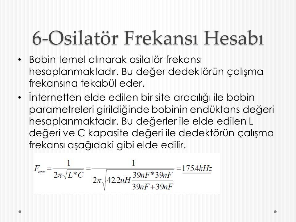 6-Osilatör Frekansı Hesabı