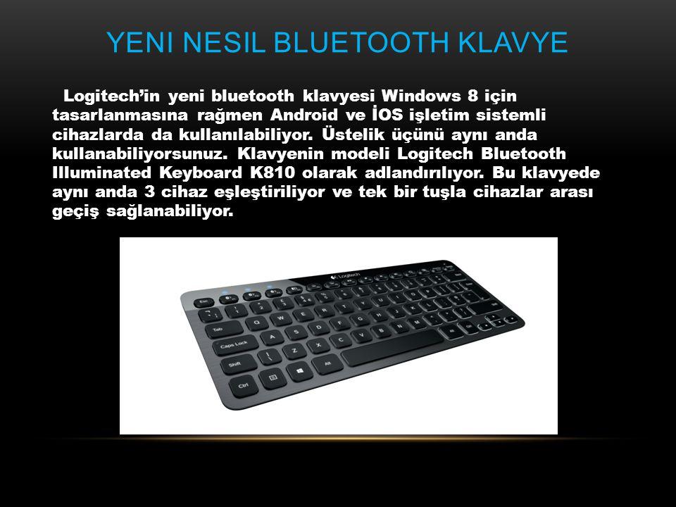 Yeni nesil Bluetooth Klavye