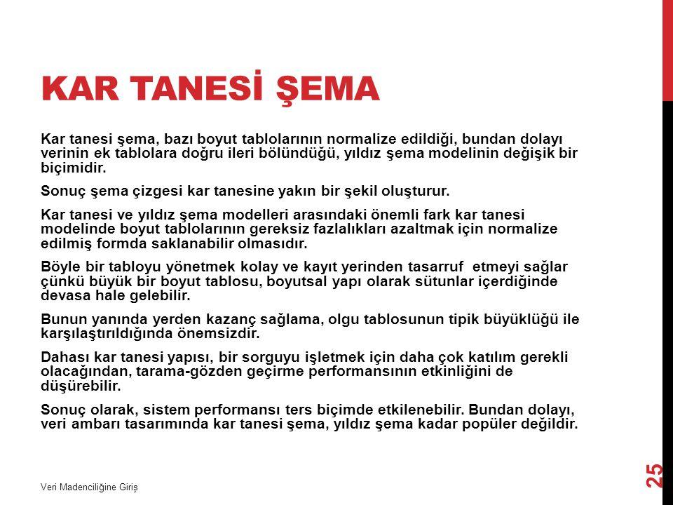 Kar Tanesİ Şema