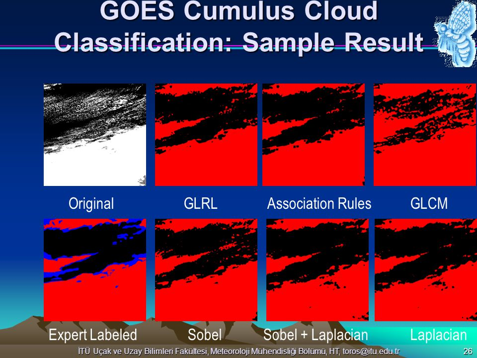 GOES Cumulus Cloud Classification: Sample Result