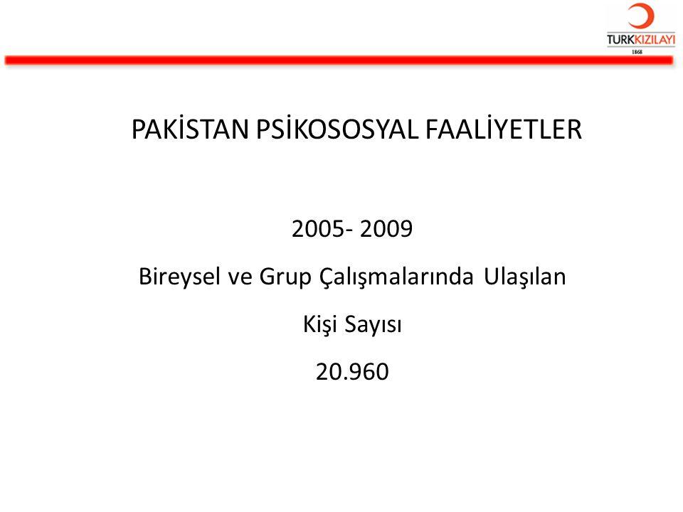 PAKİSTAN PSİKOSOSYAL FAALİYETLER