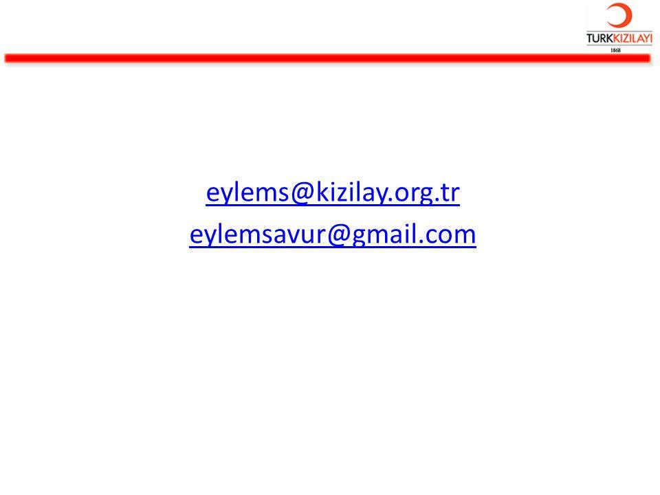 eylems@kizilay.org.tr eylemsavur@gmail.com