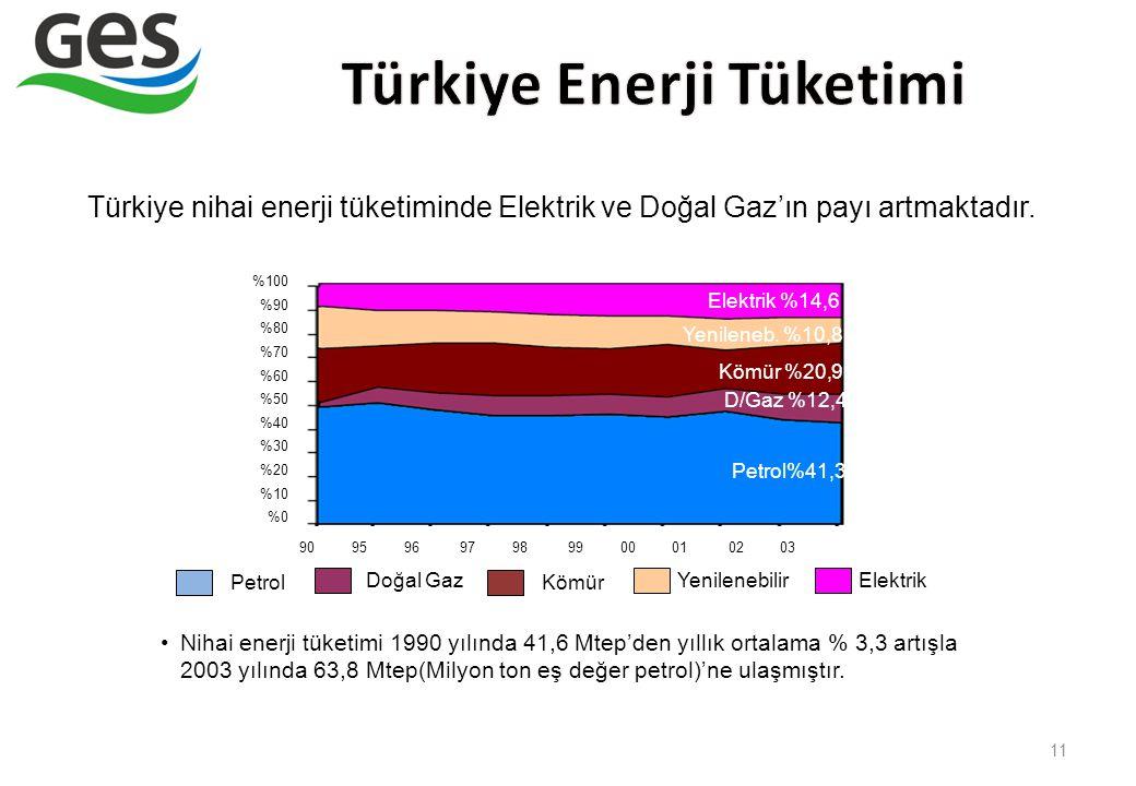 Türkiye Enerji Tüketimi