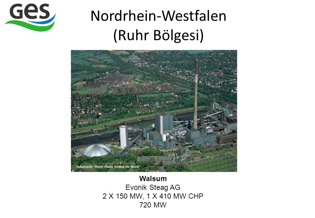 Nordrhein-Westfalen (Ruhr Bölgesi)