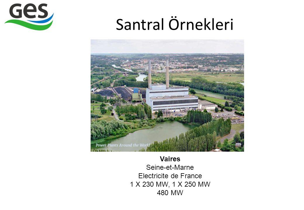Vaires Seine-et-Marne Electricite de France 1 X 230 MW, 1 X 250 MW