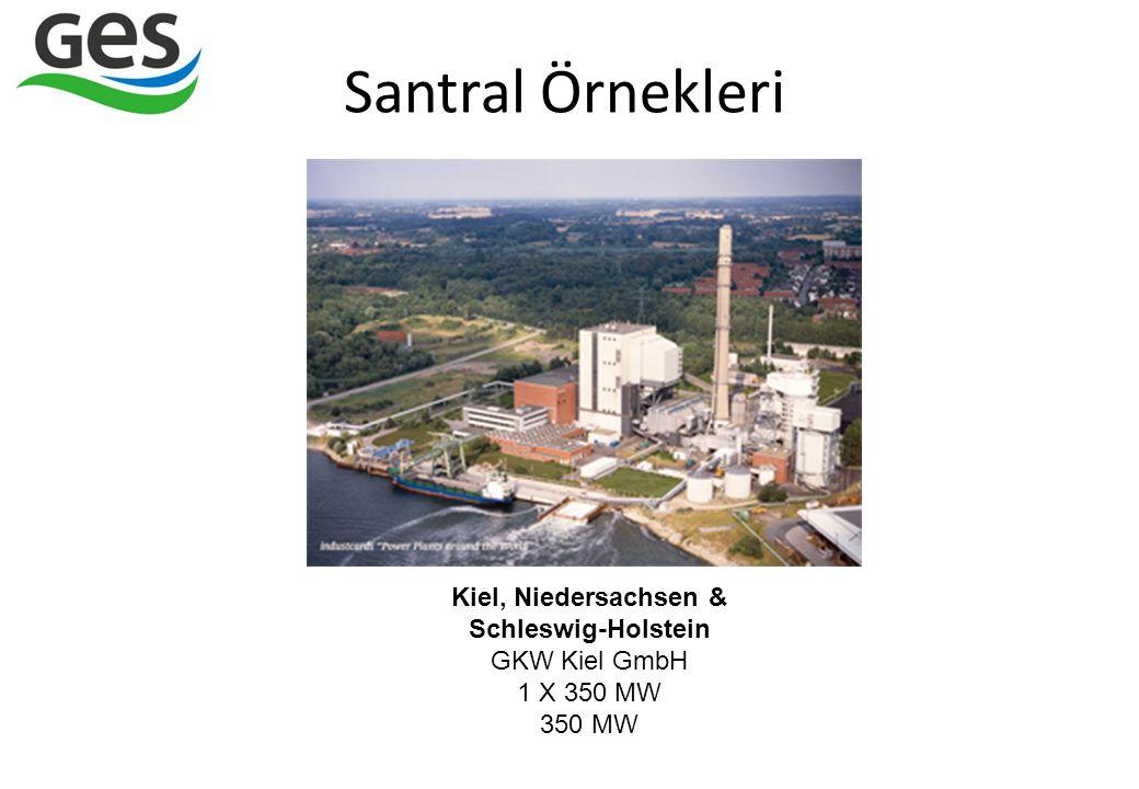 Kiel, Niedersachsen & Schleswig-Holstein GKW Kiel GmbH 1 X 350 MW