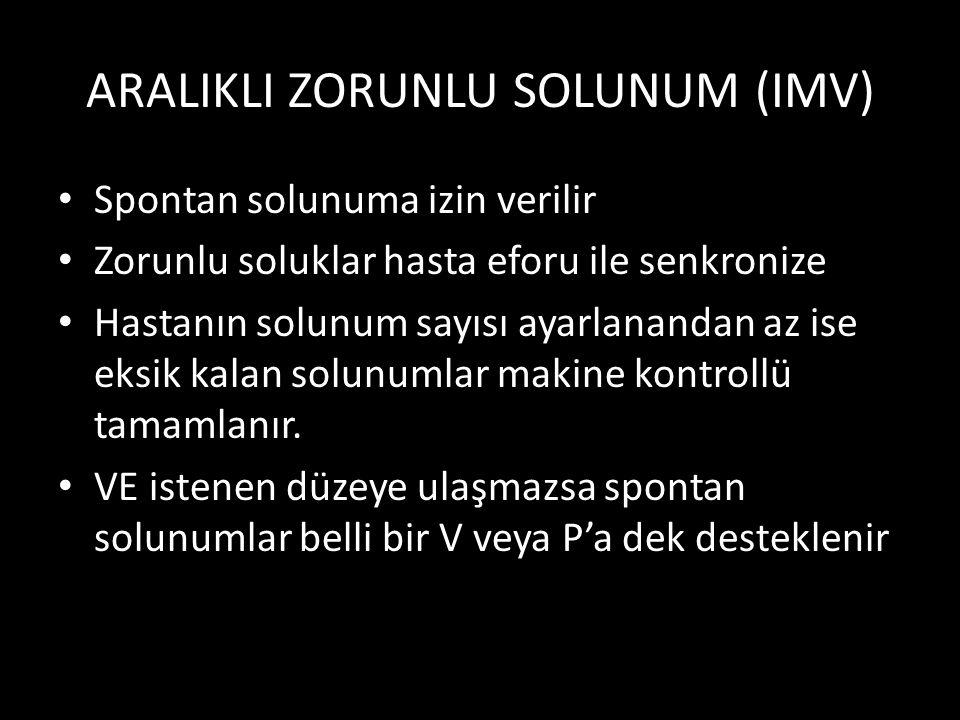 ARALIKLI ZORUNLU SOLUNUM (IMV)