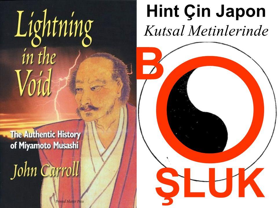 Hint Çin Japon Kutsal Metinlerinde O B ŞLUK 05.04.2017