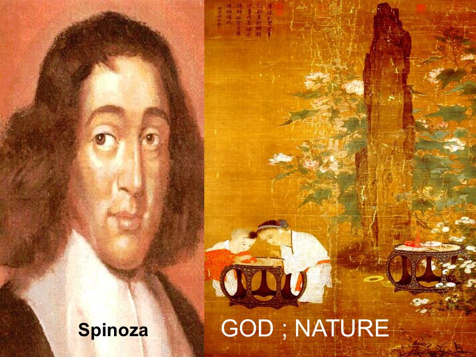 GOD ; NATURE Spinoza