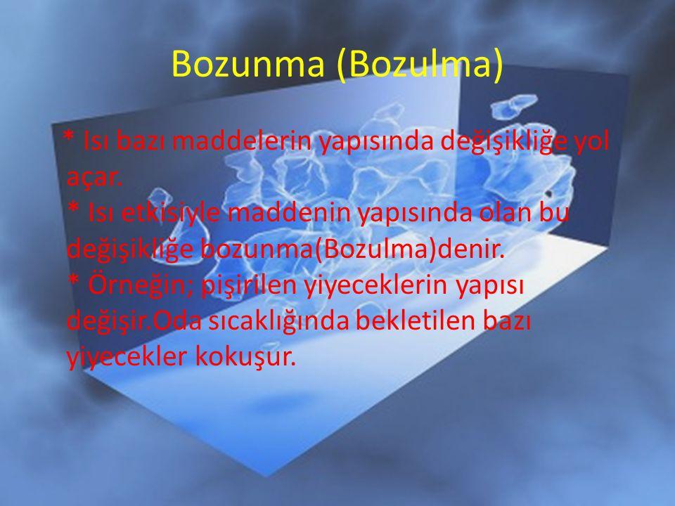 Bozunma (Bozulma)