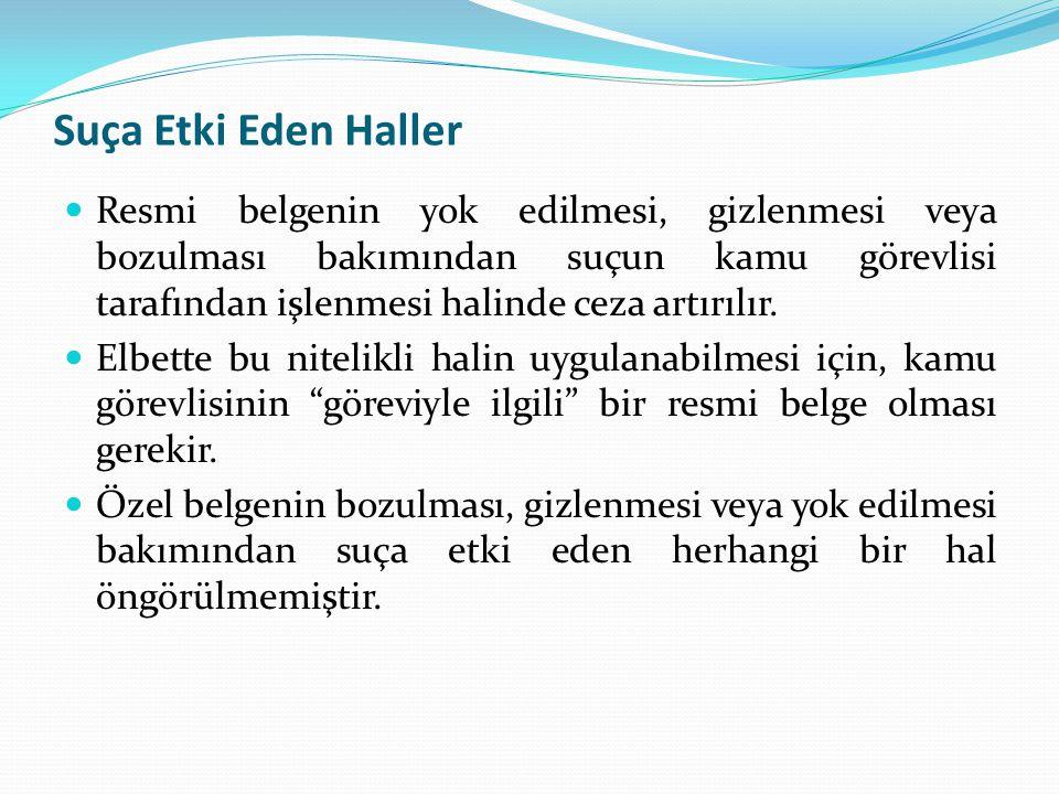 Suça Etki Eden Haller