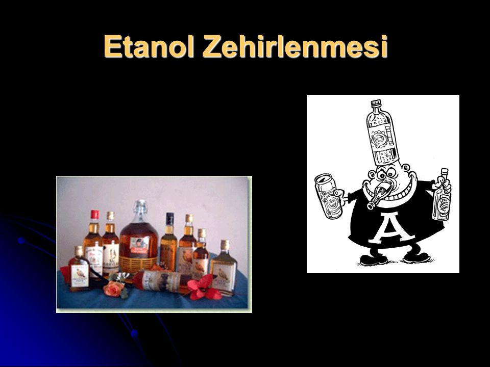 Etanol Zehirlenmesi