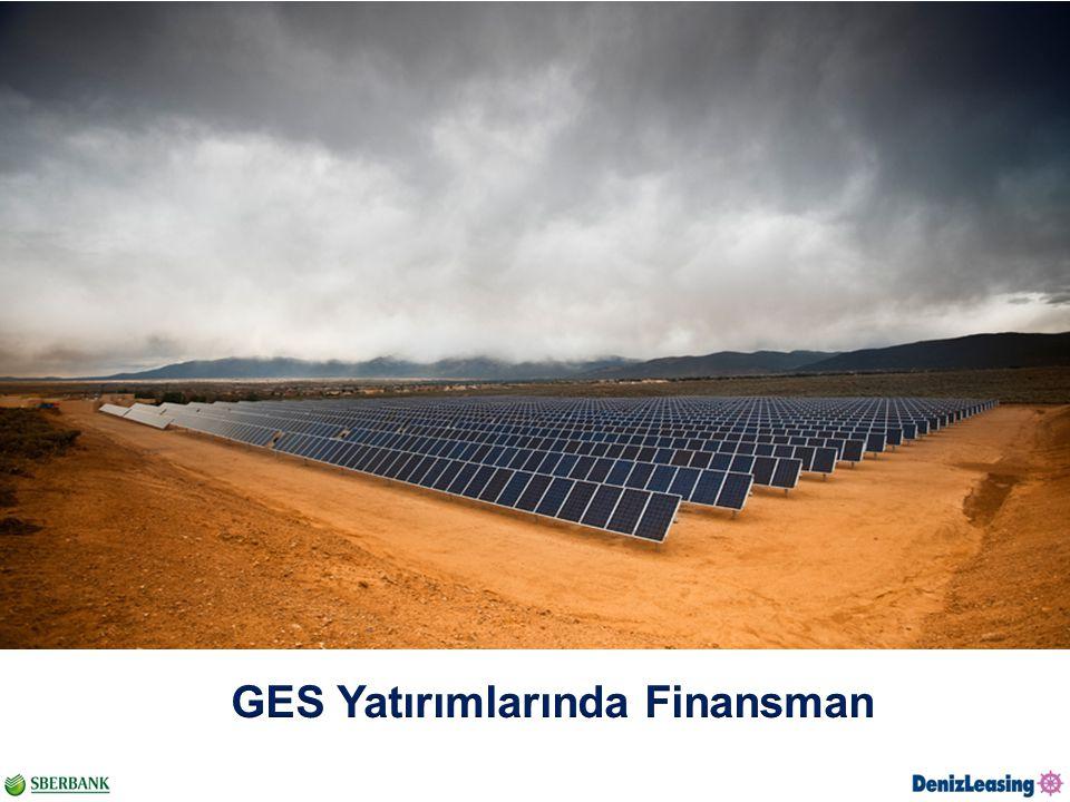 GES Yatırımlarında Finansman