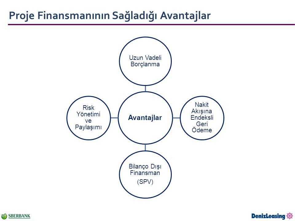 Proje Finansmanının Sağladığı Avantajlar