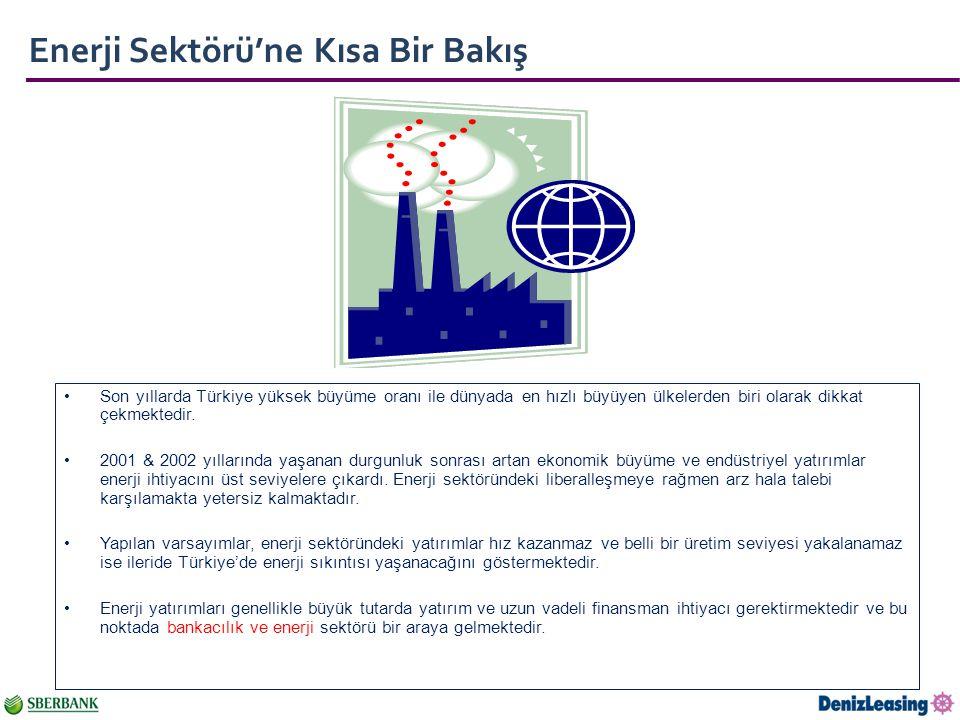Enerji Sektörü'ne Kısa Bir Bakış