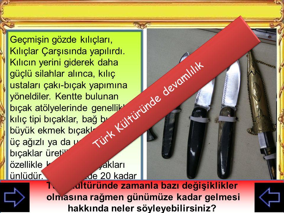 Türk Kültüründe devamlılık