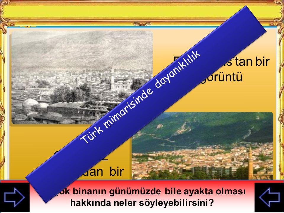 Eski Sivas'tan bir görüntü