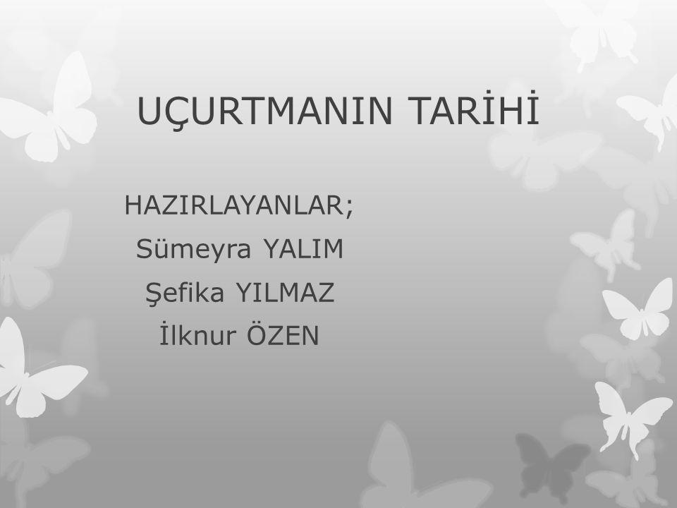 HAZIRLAYANLAR; Sümeyra YALIM Şefika YILMAZ İlknur ÖZEN