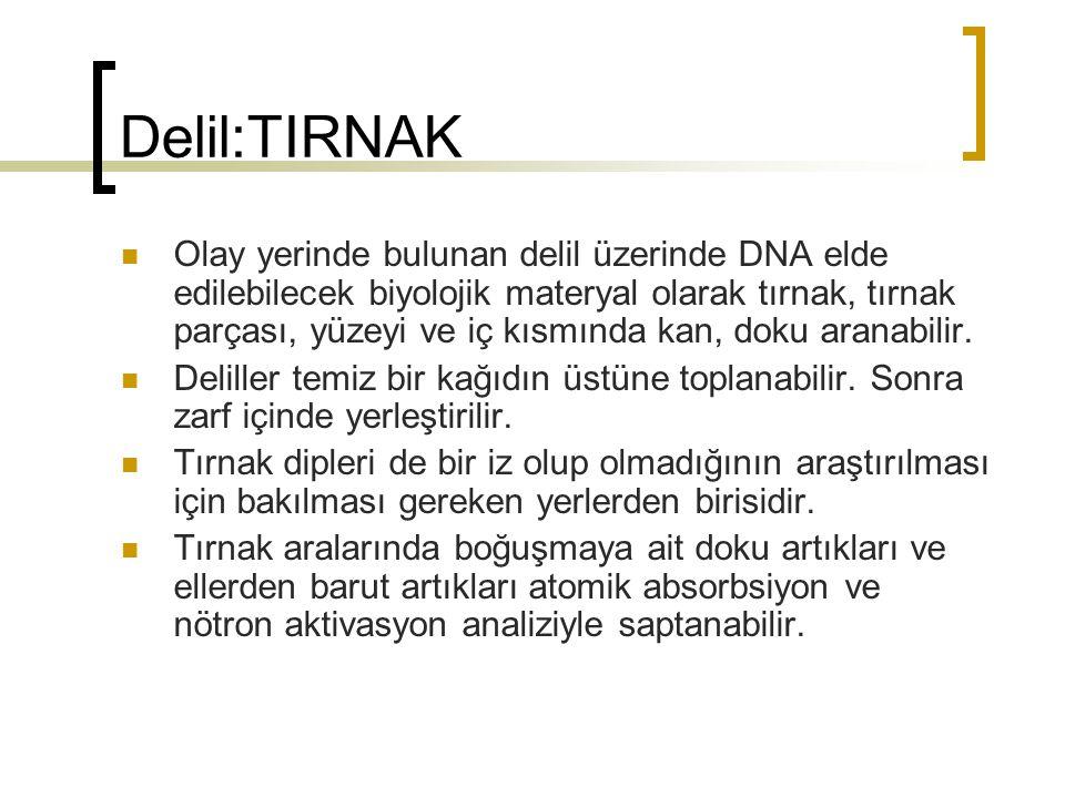 Delil:TIRNAK