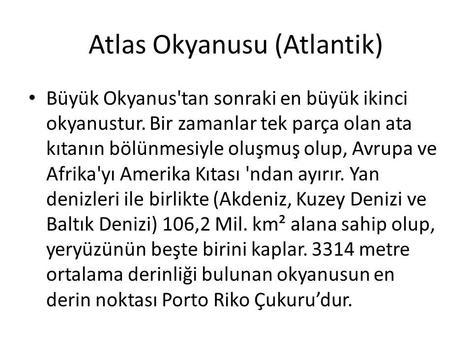 Atlas Okyanusu (Atlantik)
