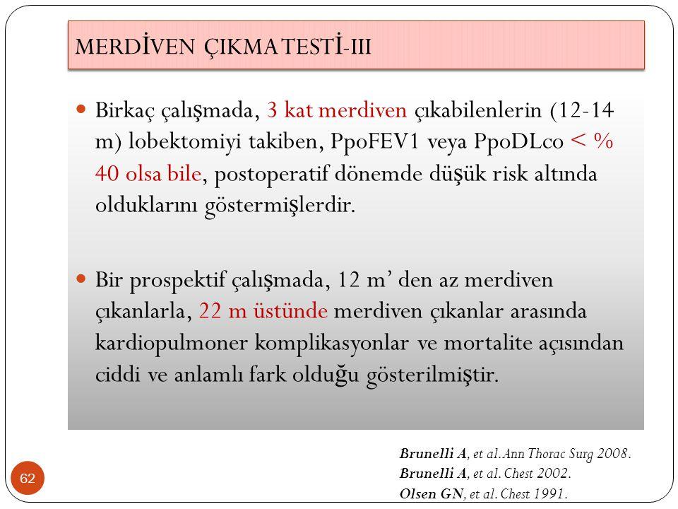 MERDİVEN ÇIKMA TESTİ-III