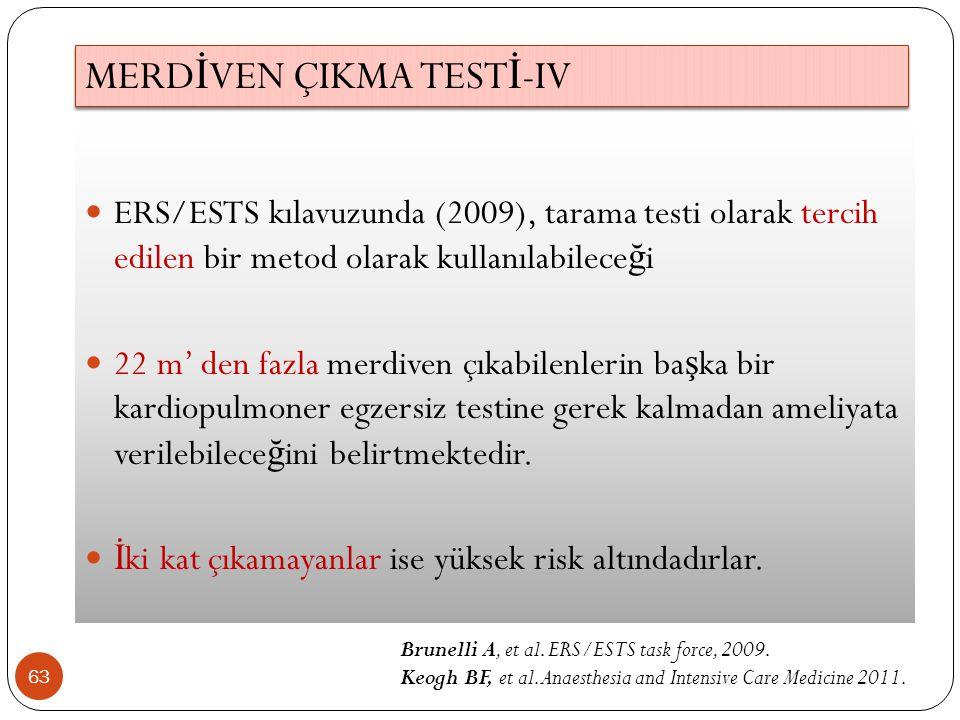 MERDİVEN ÇIKMA TESTİ-IV