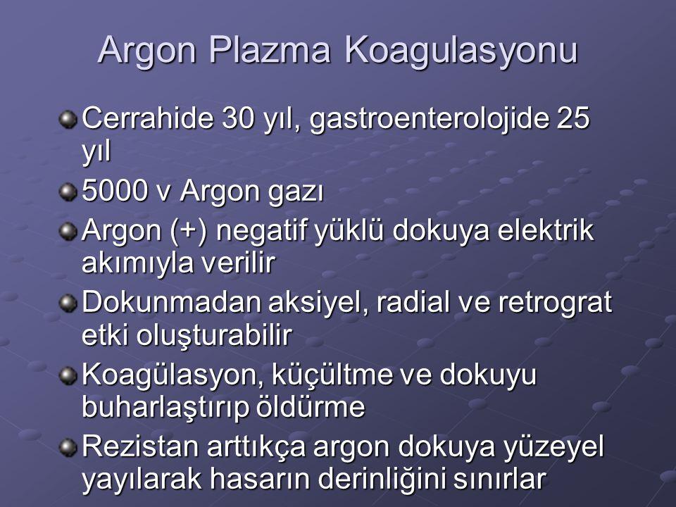 Argon Plazma Koagulasyonu