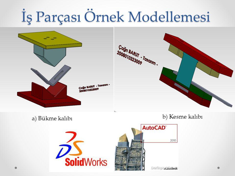 İş Parçası Örnek Modellemesi