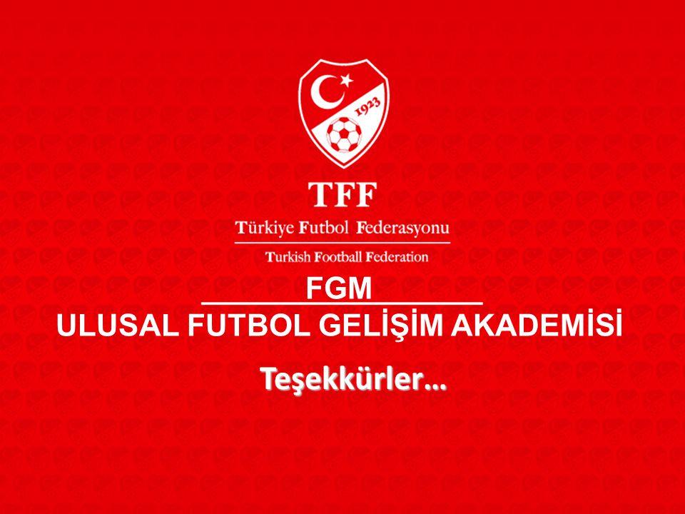 ULUSAL FUTBOL GELİŞİM AKADEMİSİ