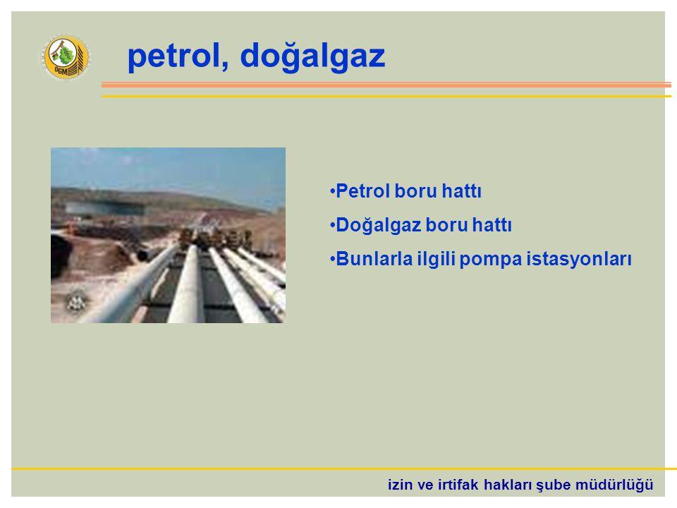 petrol, doğalgaz Petrol boru hattı Doğalgaz boru hattı