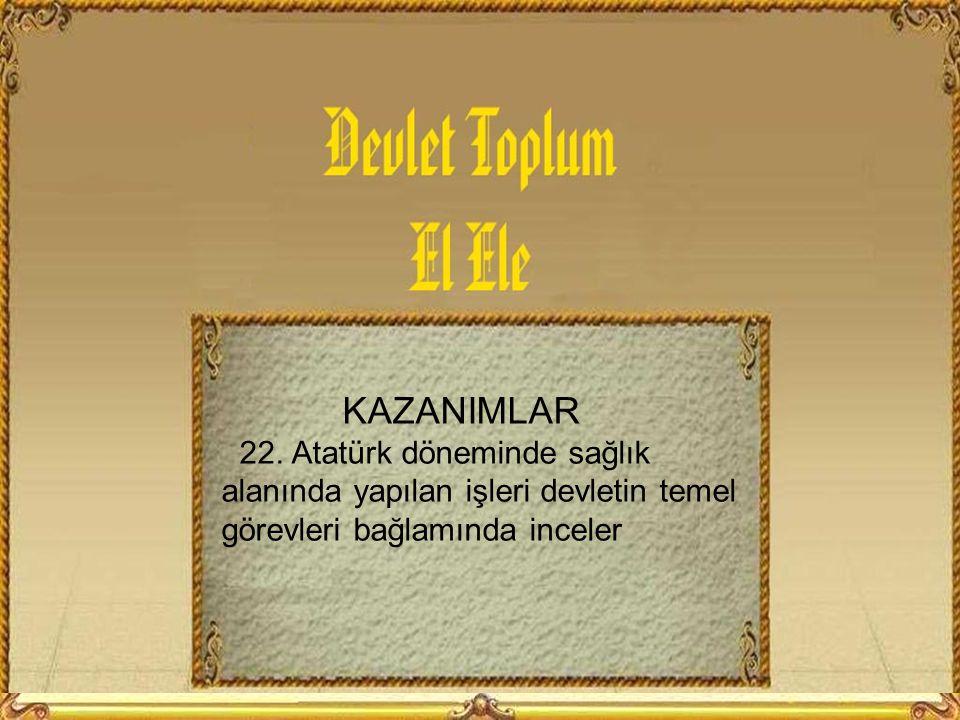 KAZANIMLAR 22.