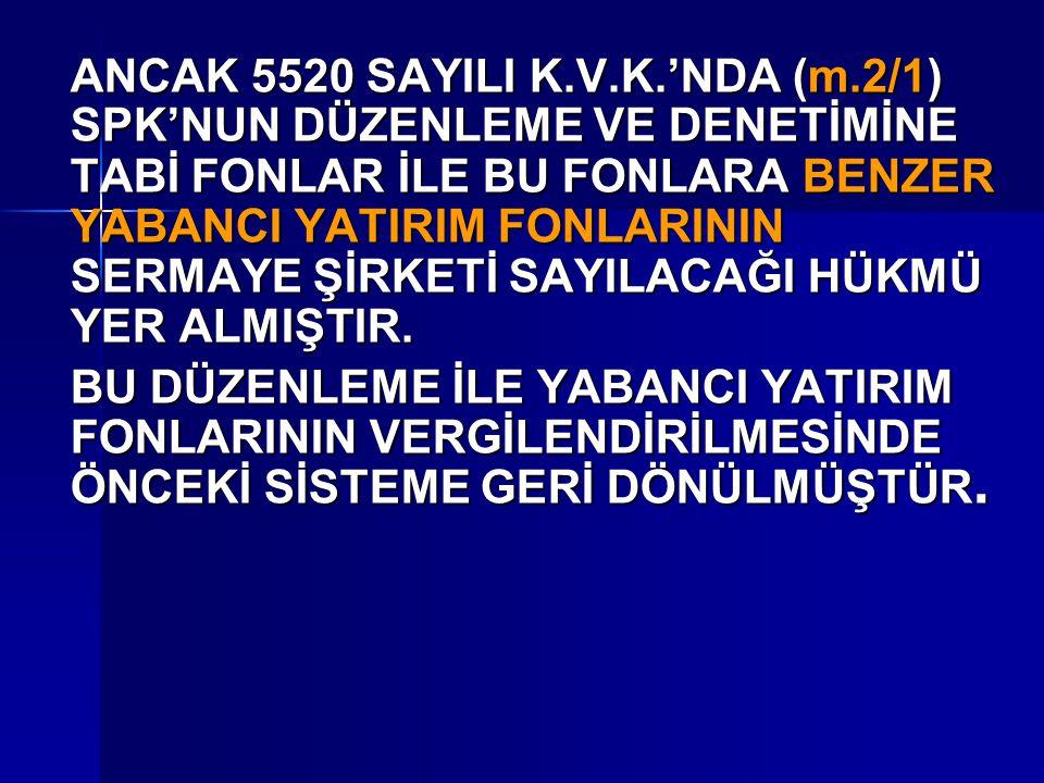 ANCAK 5520 SAYILI K. V. K. 'NDA (m
