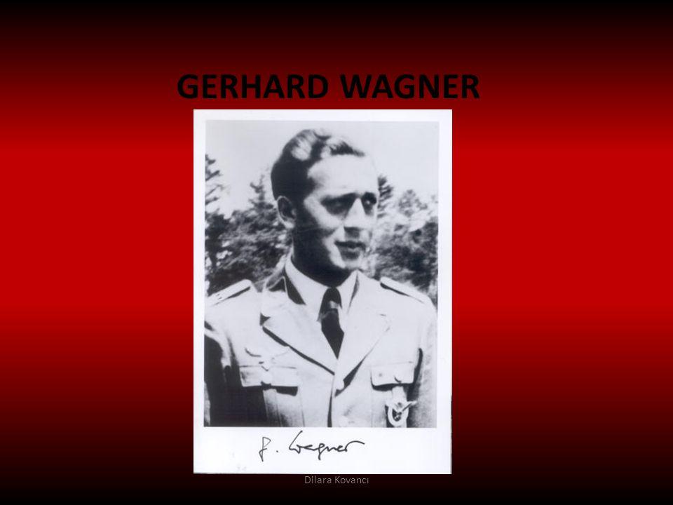 GERHARD WAGNER Dilara Kovancı