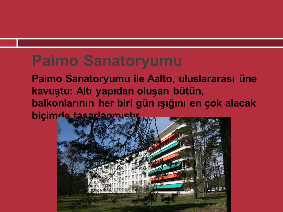 Paimo Sanatoryumu