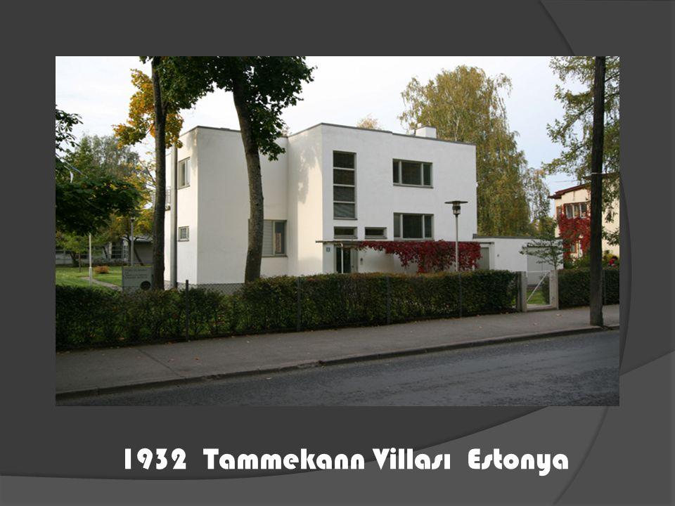 1932 Tammekann Villası Estonya