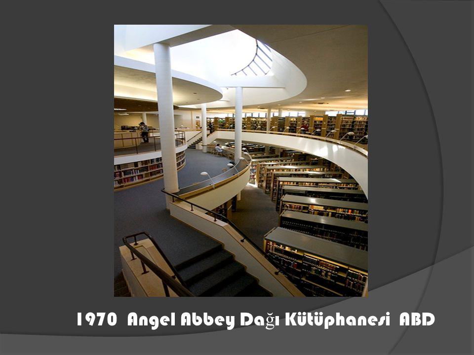 1970 Angel Abbey Dağı Kütüphanesi ABD