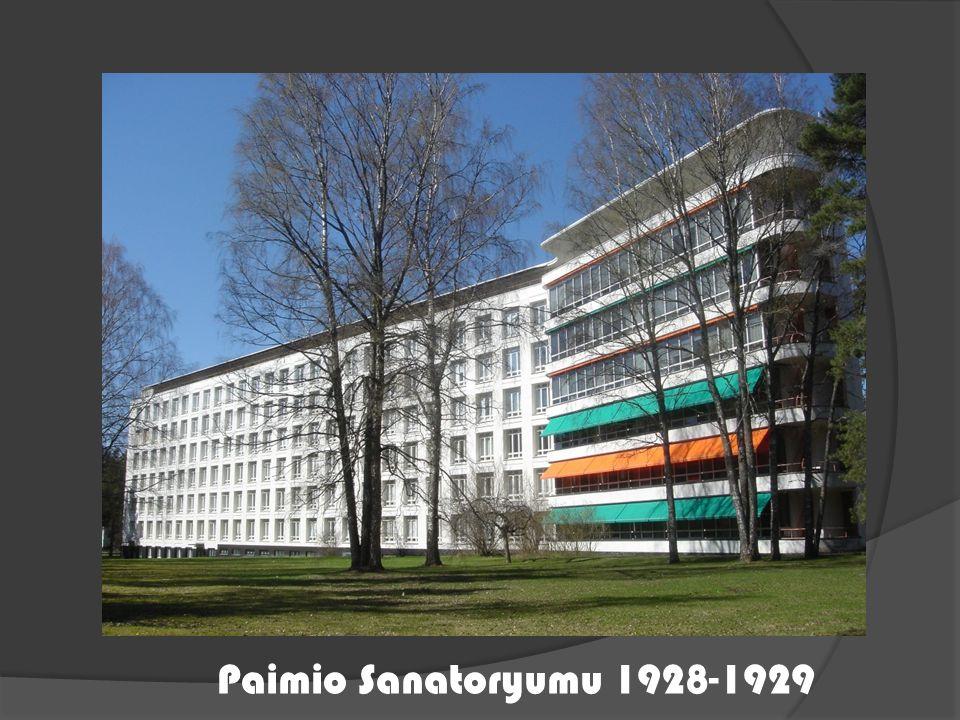 Paimio Sanatoryumu 1928-1929
