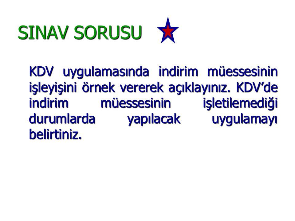 SINAV SORUSU