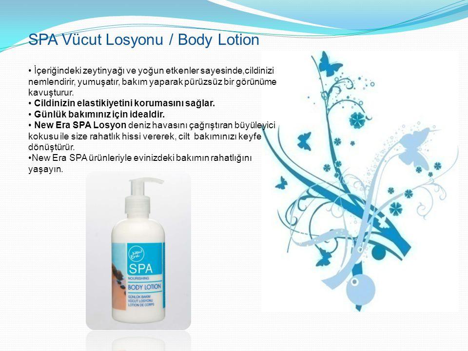 SPA Vücut Losyonu / Body Lotion