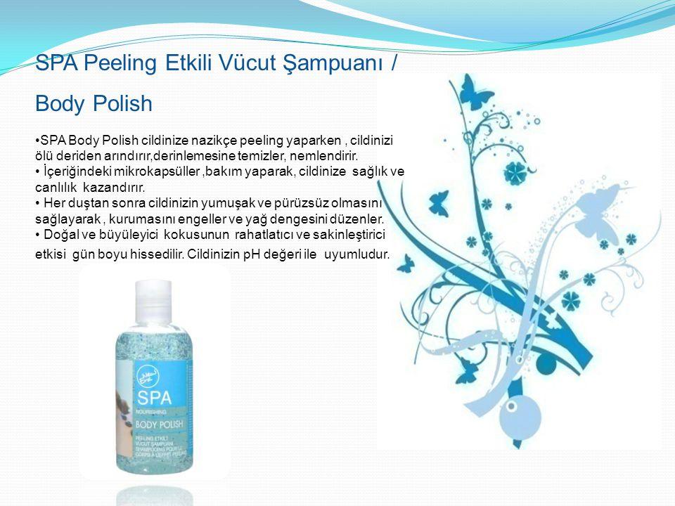 SPA Peeling Etkili Vücut Şampuanı / Body Polish