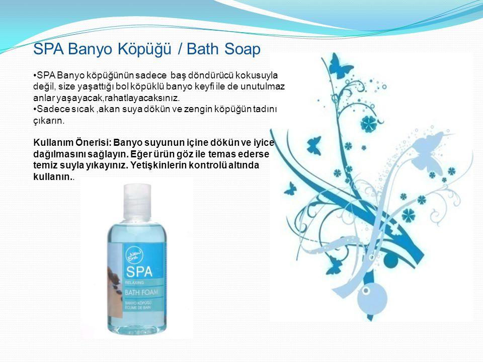 SPA Banyo Köpüğü / Bath Soap