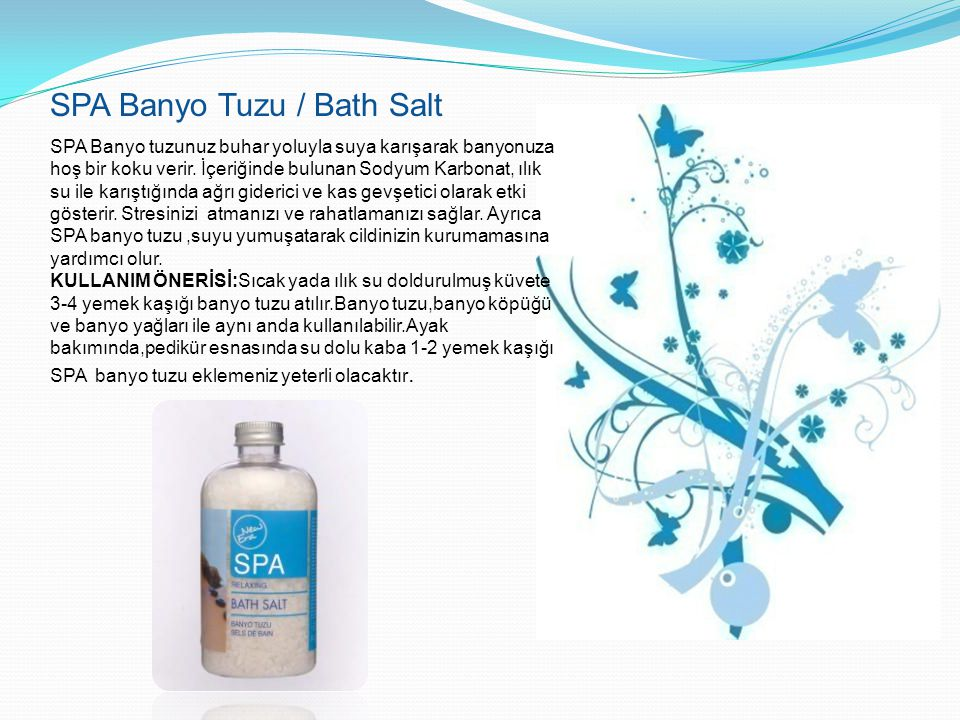 SPA Banyo Tuzu / Bath Salt