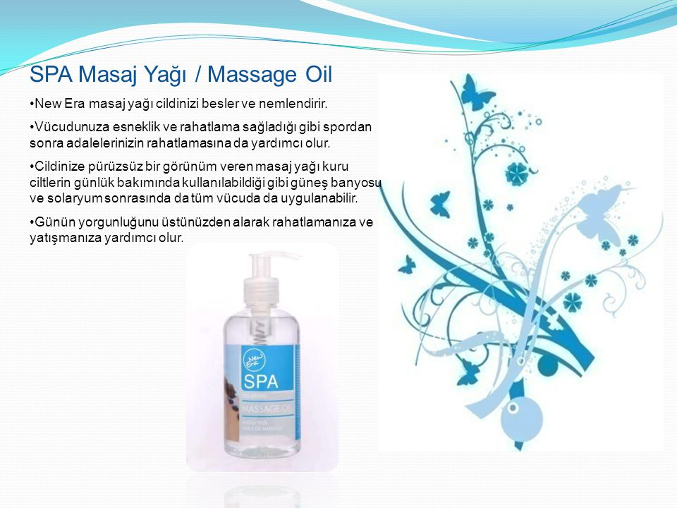SPA Masaj Yağı / Massage Oil