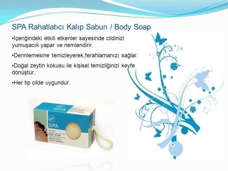 SPA Rahatlatıcı Kalıp Sabun / Body Soap