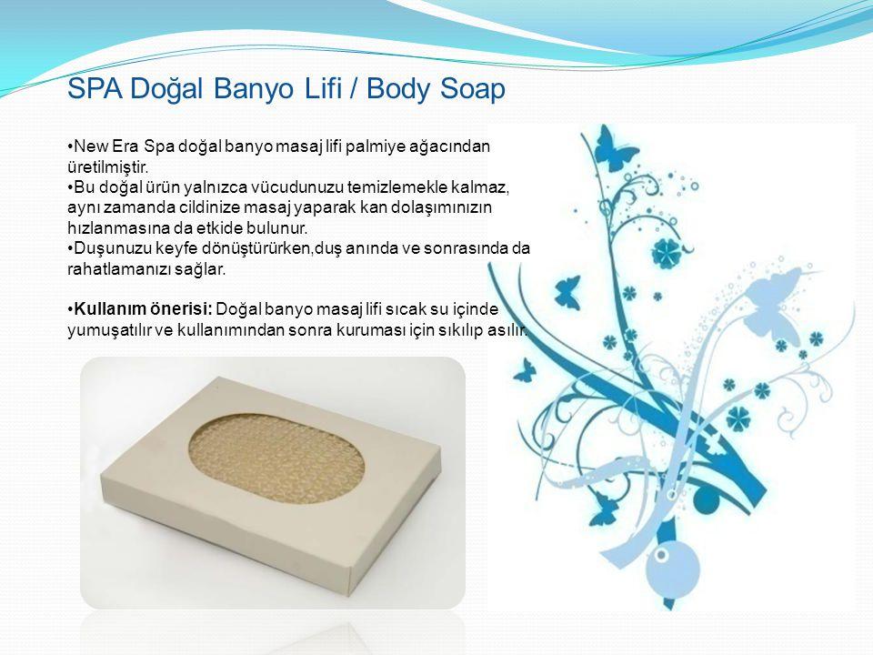 SPA Doğal Banyo Lifi / Body Soap