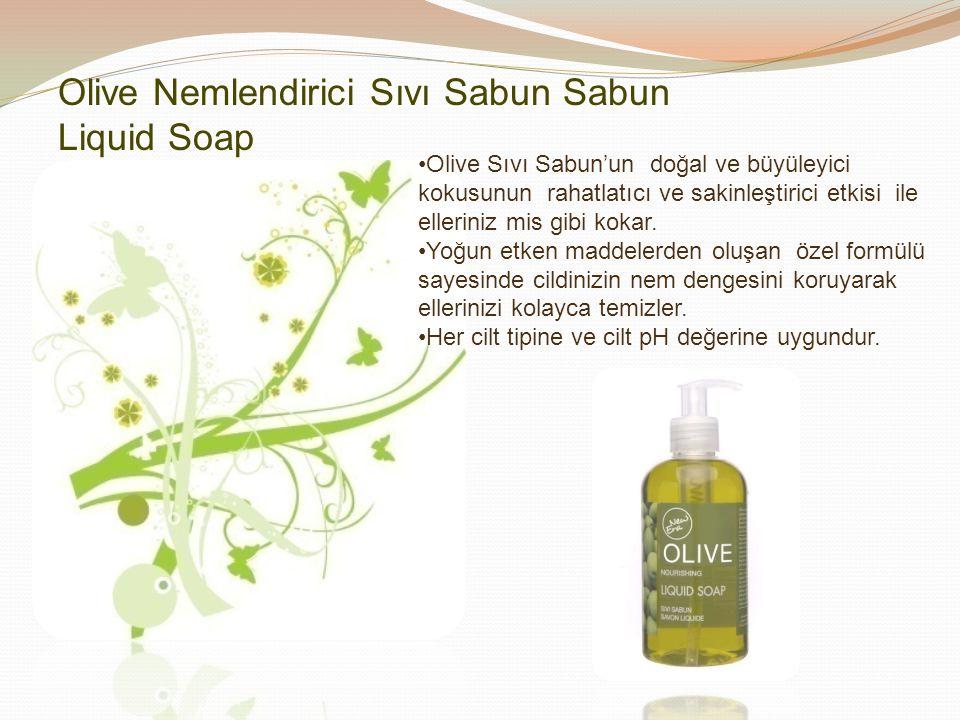 Olive Nemlendirici Sıvı Sabun Sabun Liquid Soap