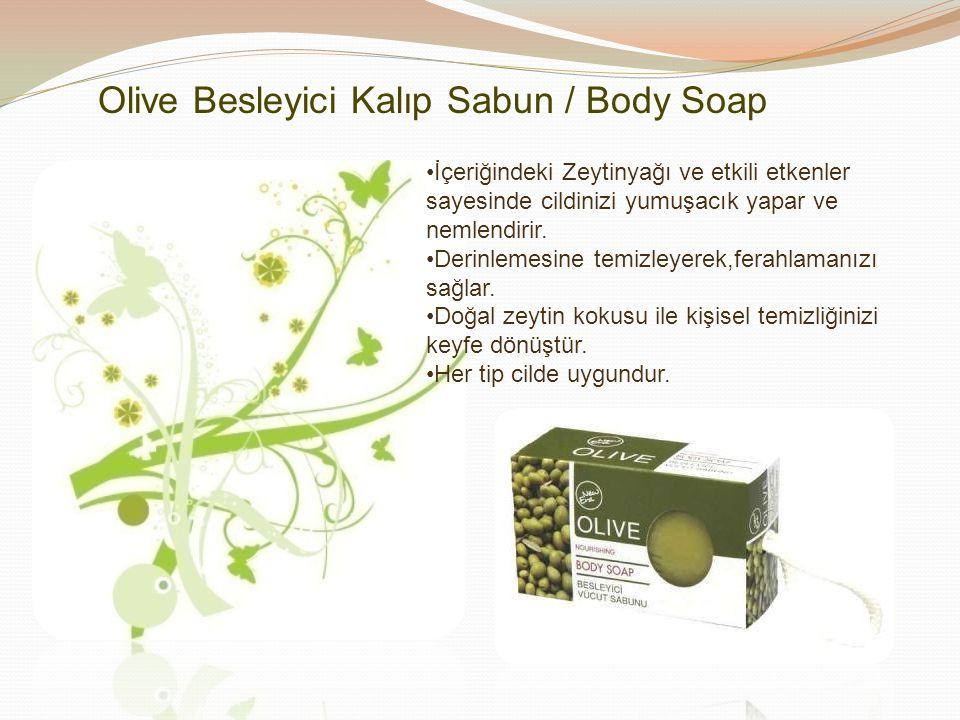 Olive Besleyici Kalıp Sabun / Body Soap