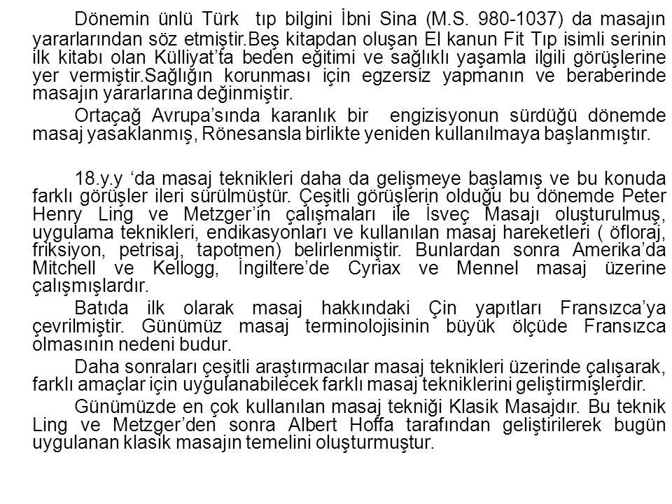 Dönemin ünlü Türk tıp bilgini İbni Sina (M. S