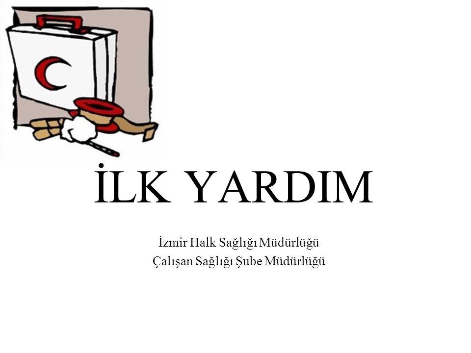 İzmir Halk Sağlığı Müdürlüğü Çalışan Sağlığı Şube Müdürlüğü