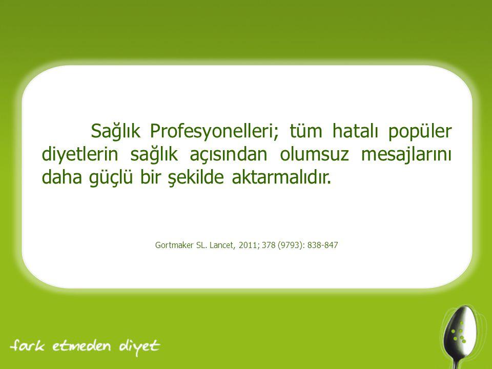 Gortmaker SL. Lancet, 2011; 378 (9793): 838-847